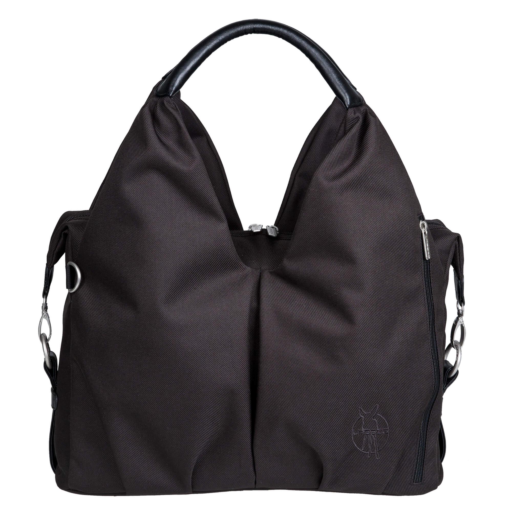 Wickeltasche neckline bag black lÄssig fashion