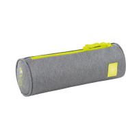 Schlampermäppchen -  School Pencil Case Big, About Friends Mélange Grey
