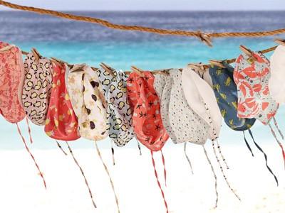LAESSIG-Bademode-Splash-Fun-Trendfarbe-Koralle-Living-Coral
