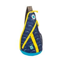 Rucksack Mini Sling Bag, Cars navy