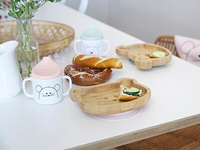 LAESSIG-Snackteller-Bambusholz-gemeinsames-Familienessen