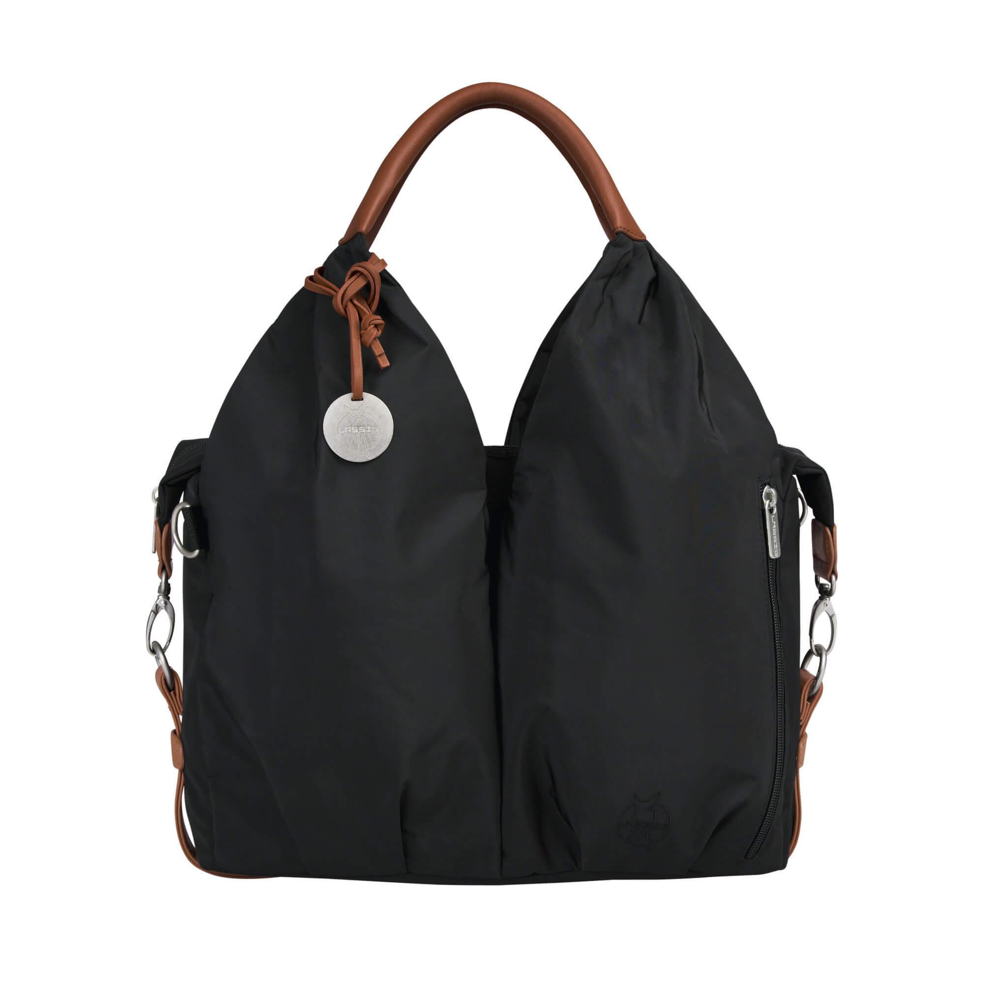 handtasche signature bag black l ssig fashion. Black Bedroom Furniture Sets. Home Design Ideas