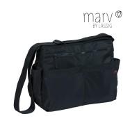 Wickeltasche Marv Shoulder Bag , Black