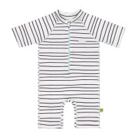 Kinder Schwimmanzug - Short Sleeve Sunsuit, Little Sailor Navy