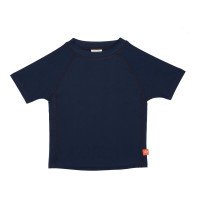 UV-Shirts Rashguard Short Sleeve Girls, Navy
