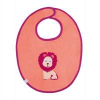Lätzchen Bib Waterproof Medium, Wildlife Lion