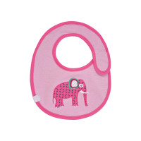 Lätzchen Bib Waterproof Small, Wildlife Elephant