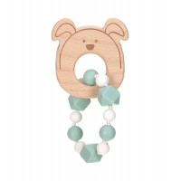 Greifling mit Beißhilfe - Teether Bracelet, Little Chums Dog