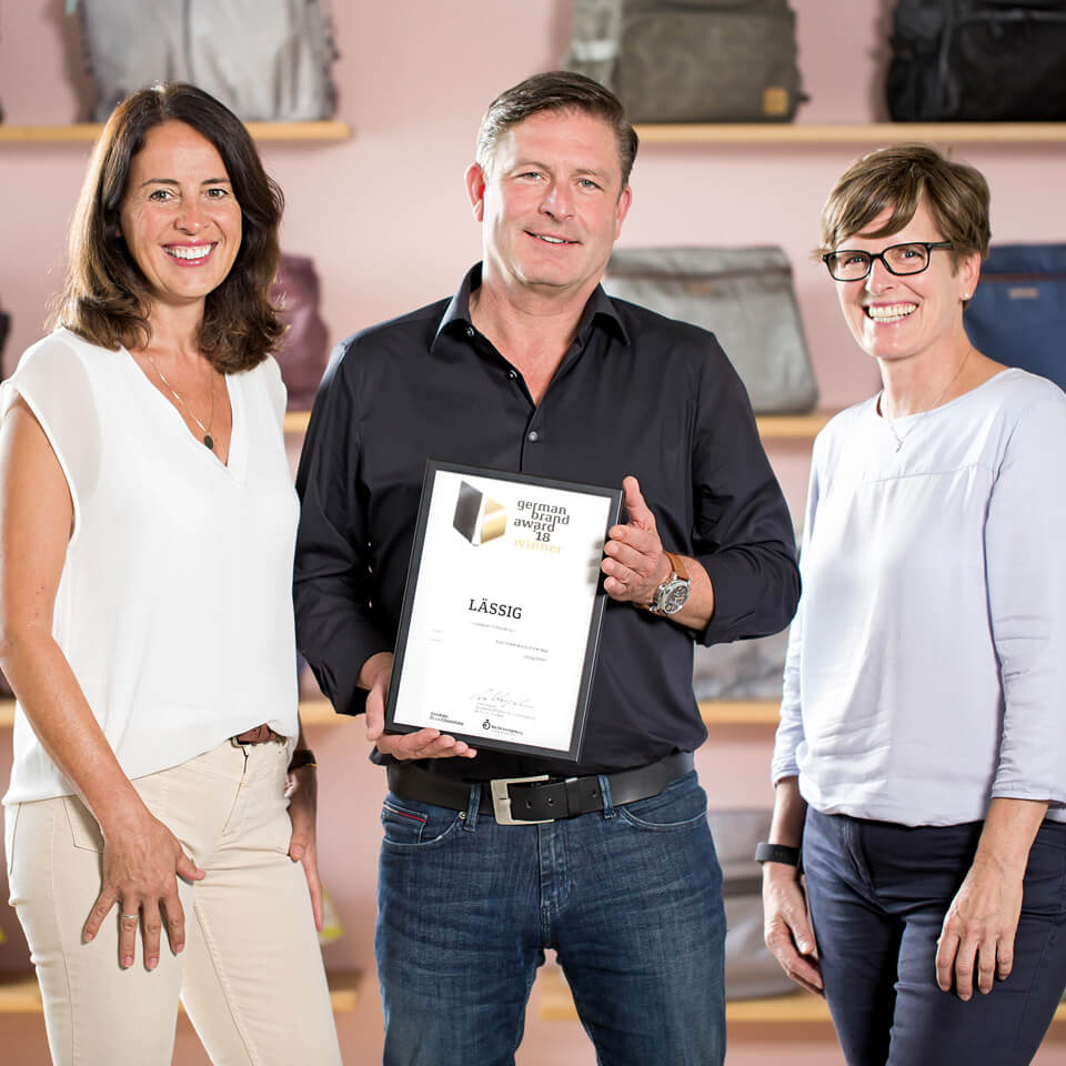 LAESSIG-Auszeichnung-German-Brand-Award-2018