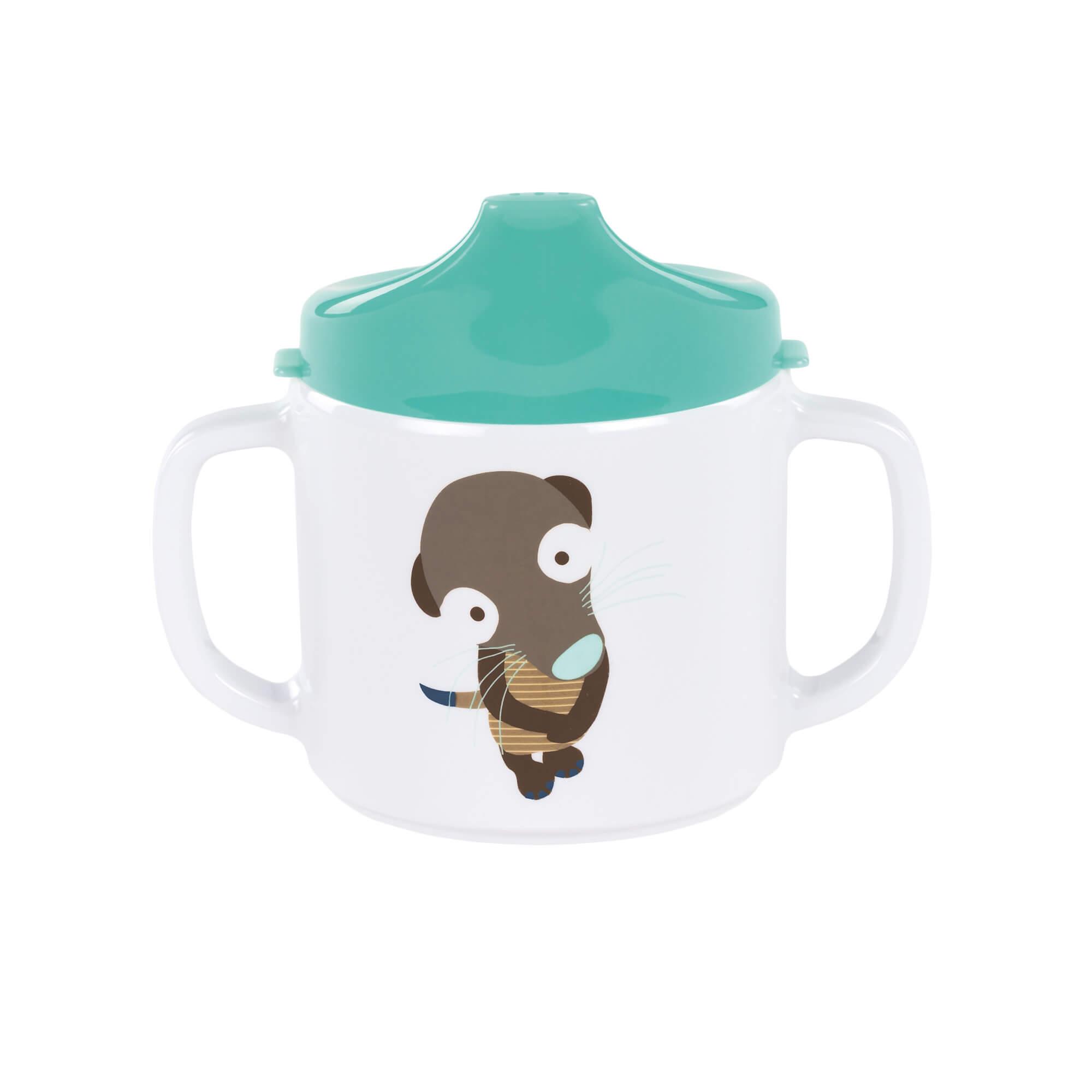 Lässig trinklernbecher dish cup melamine silicone