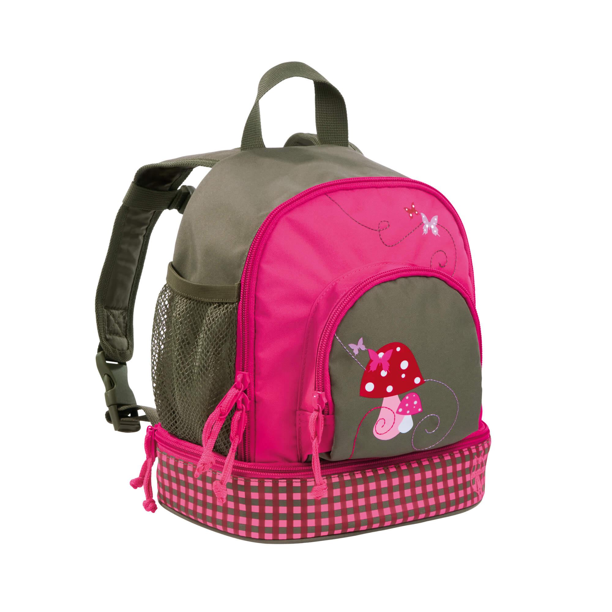 Lässig kinderrucksack mini backpack mushroom magenta