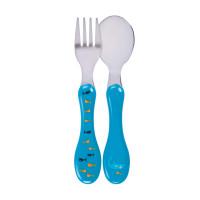 Kinderbesteck - Cutlery Stainless Steel, Shark Ocean