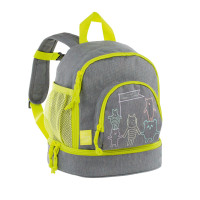 Kindergartenrucksack -  Mini Backpack, About Friends Mélange Grey