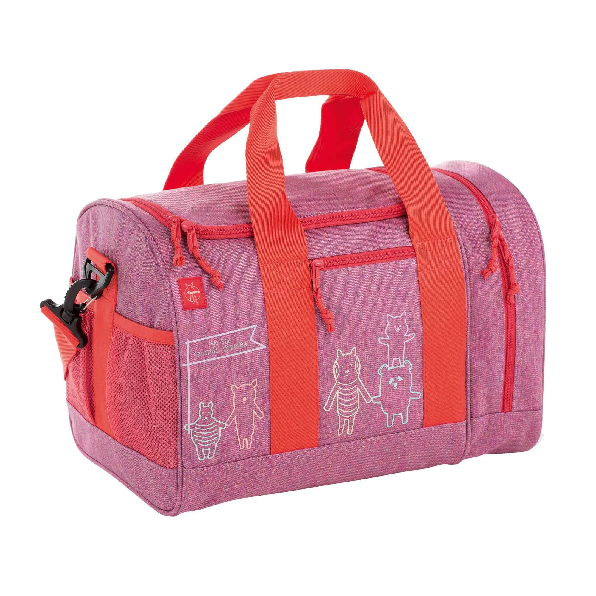 02daf87600266 Lässig Sporttasche - Mini Sportsbag About Friends Mélange Pink ...