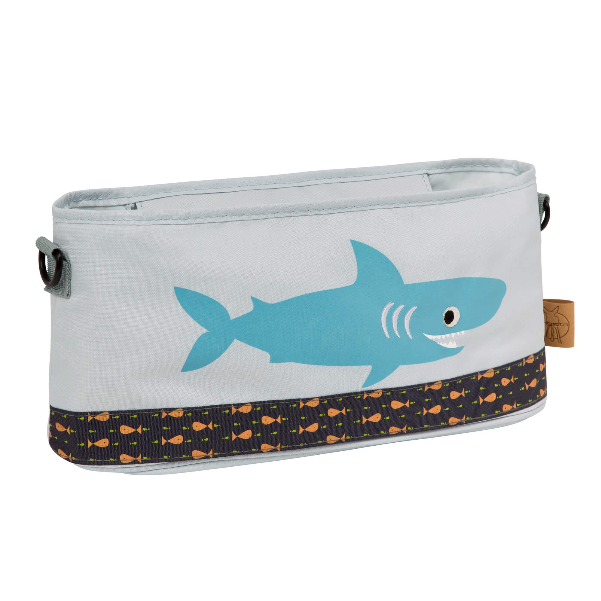 Lässig kinderwagentasche casual buggy organizer shark