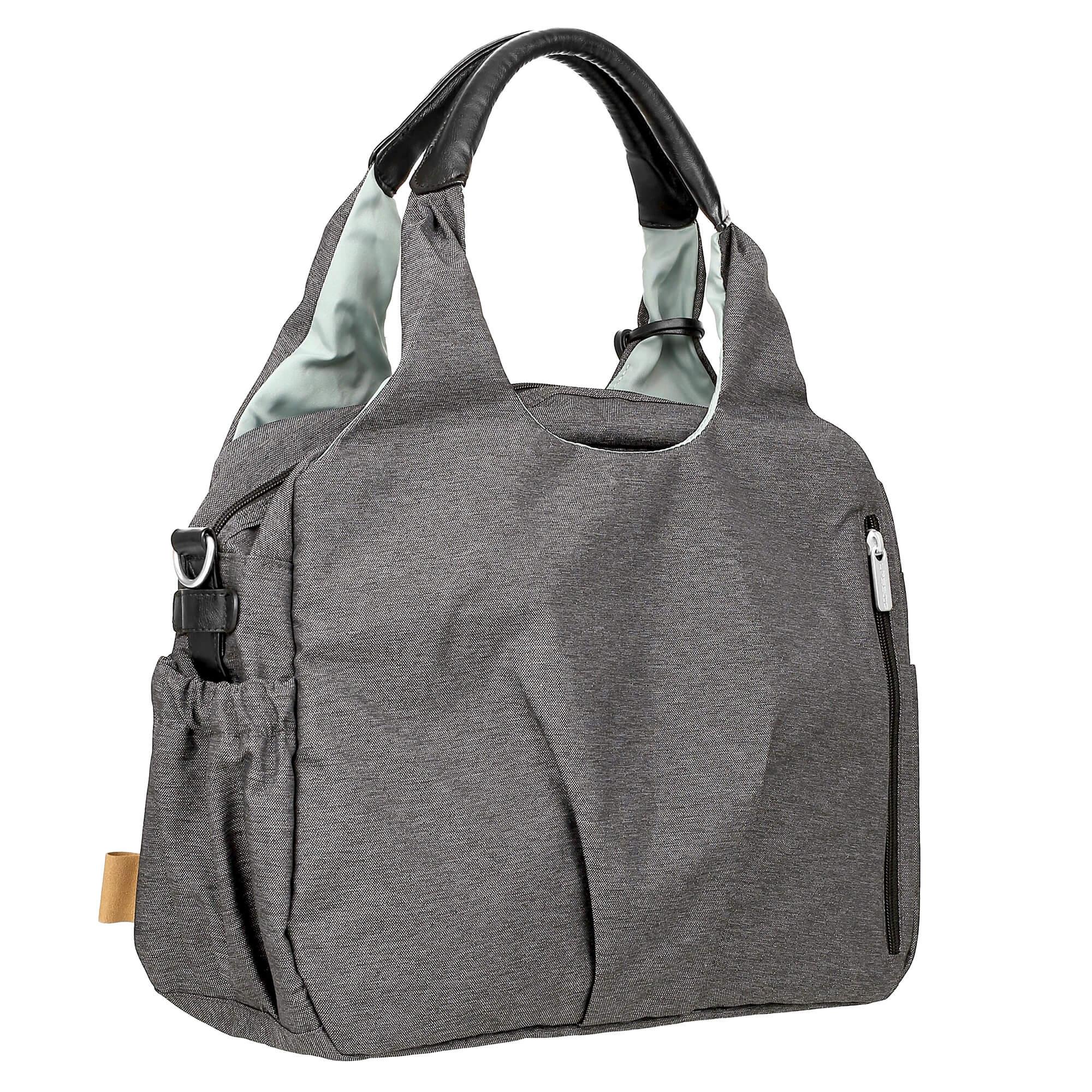 Wickeltasche global bag ecoya anthracite lÄssig fashion