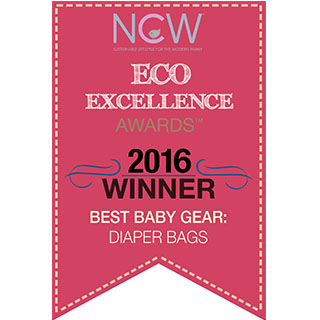 Eco Excellence Award Best Baby Gear Diaper Bags Lassig Diaper Bags Green Label Neckline Bag