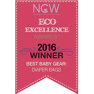 Eco Excellence Award Best Baby Gear Diaper Bags Lassig Diaper Bags Green Label Neckline Bag