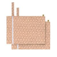 Nasstasche (2 Stk) - Wet Bag, Little Spookies Peach
