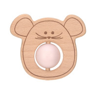 Greifling mit Beißhilfe - Teether Ball, Little Chums Mouse