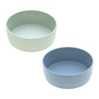 Schälchen mit Bambus im Set (2 Stk) - Bowl, Mint - Blueberry