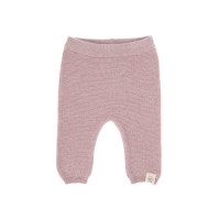 Baby Hose - Knitted Pants GOTS, Garden Explorer Light Pink