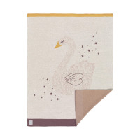 Babydecke - Knitted Blanket GOTS Little Water Swan