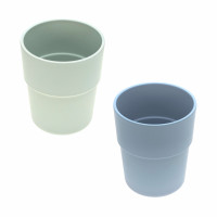 Kinderbecher im Set (2 Stk) - Mug, Mint - Blueberry