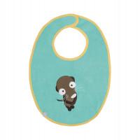 Lätzchen Bib Waterproof Medium, Wildlife Meerkat
