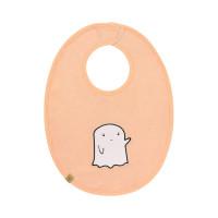 Lätzchen - Bib Waterproof Medium, Little Spookies Peach