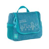 Kulturbeutel -  Mini Washbag, About Friends Mélange Blue