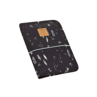 Windeltasche - Changing Pouch, Feathers Black