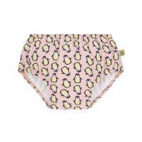 Schwimmwindel - Swim Diaper, Penguin peach