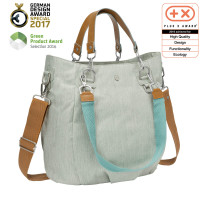 Wickeltasche Mix 'n Match Bag, light grey