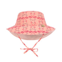 Sonnenhut für Kinder - Sun Protection Bucket Hat, Flamingo