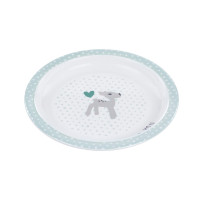 Kinderteller - Plate Melamin, Lela Light Mint