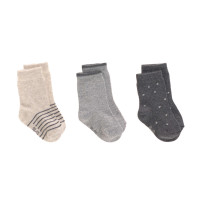 Kindersocken (3er-Pack) - Socks, Grey