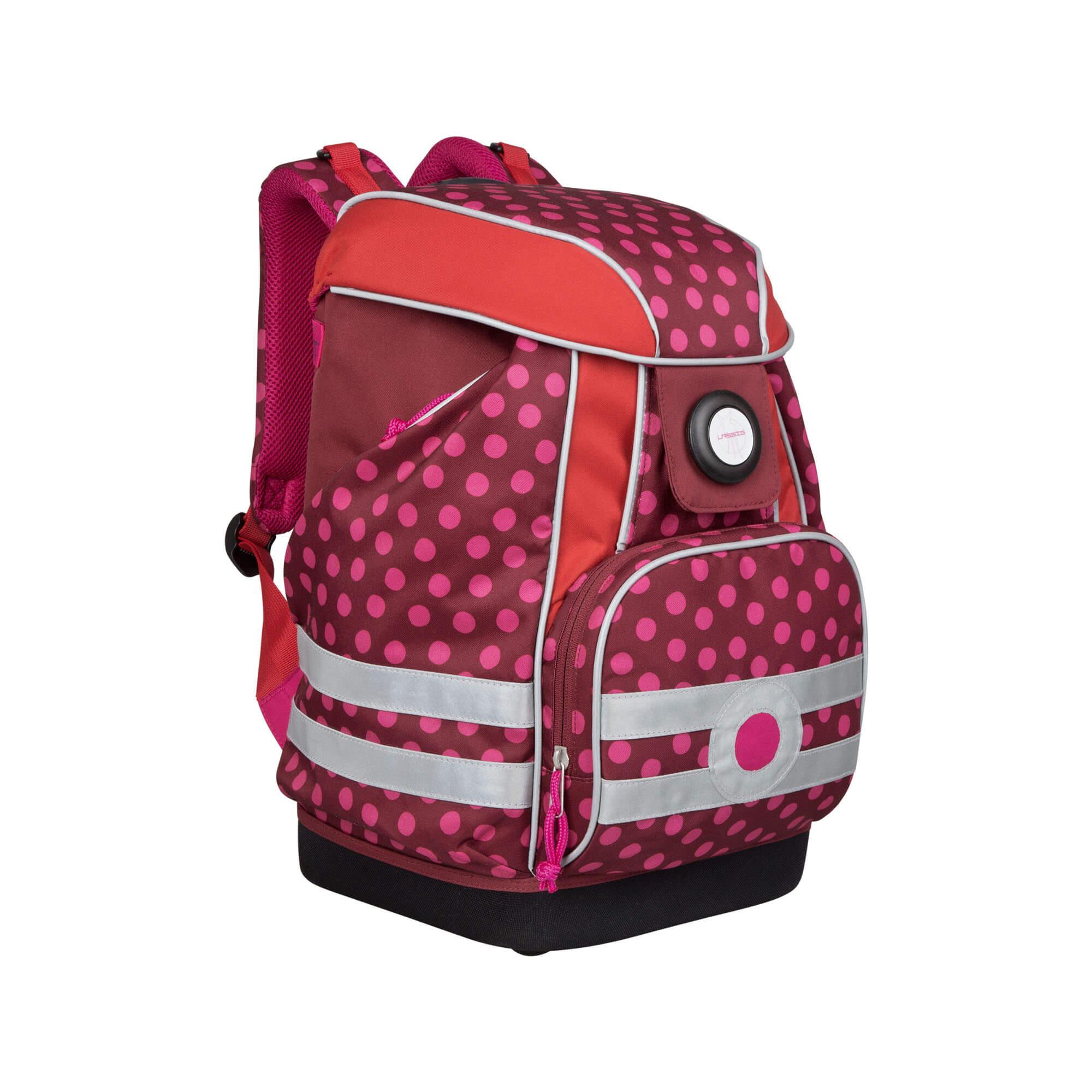 Lässig schulranzen school bag dottie red lÄssig fashion