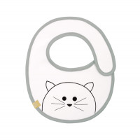 Lätzchen Bib Waterproof Small, Little Chums Cat
