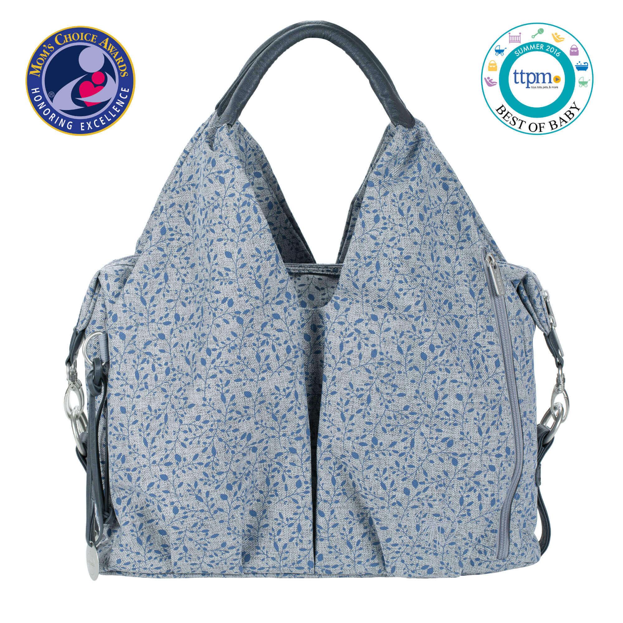 Wickeltasche neckline bag allover fleur lÄssig fashion