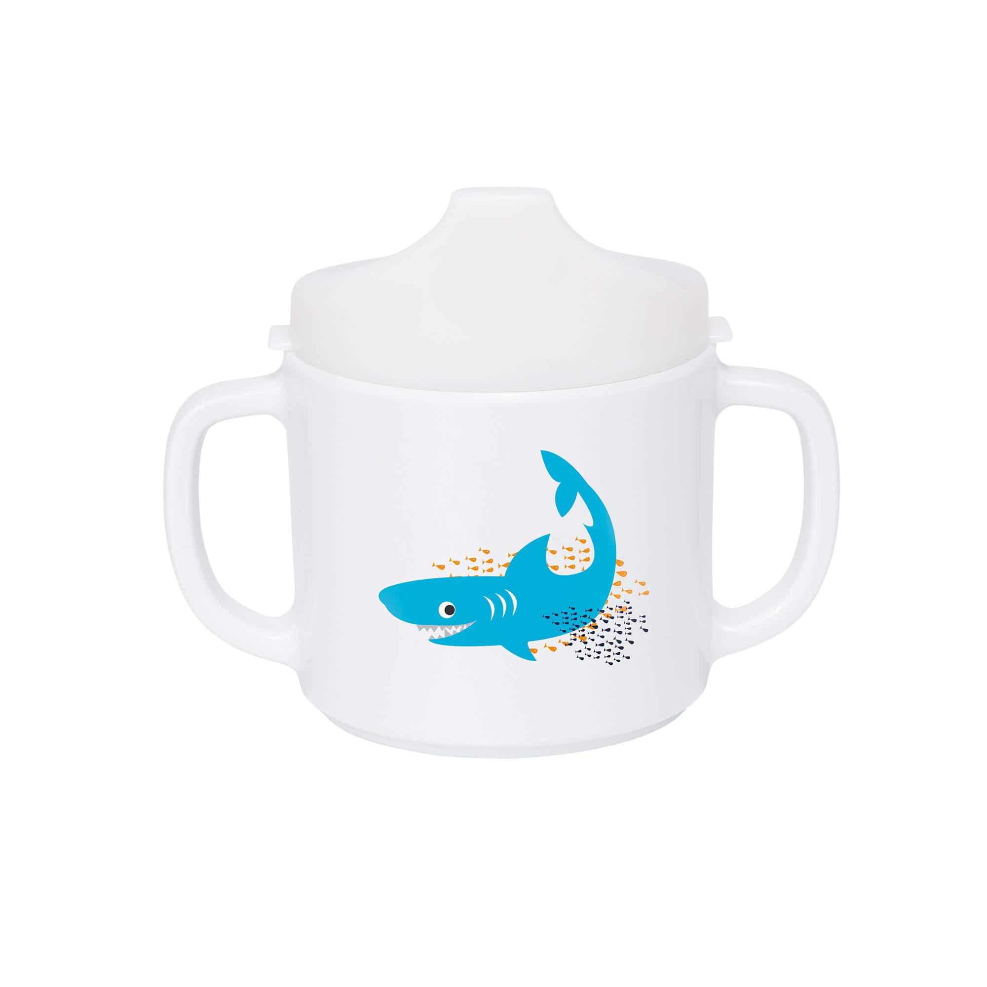 Lässig trinkbecher dish cup wildlife shark ocean lÄssig