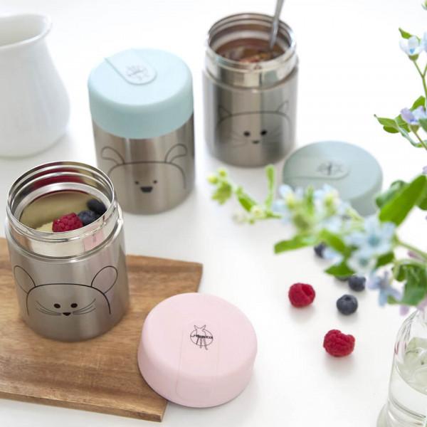 LAESSIG-Thermobehaelter-Food-Jar-Trinkflasche-aus-Edelstahl-nachhaltiger-Alleskoenner