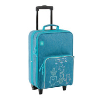 Kinderkoffer - Trolley, About Friends Mélange Blue