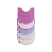 Lätzchen Bib Value Packs, Solid colors girls
