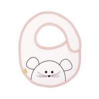 Lätzchen Bib Waterproof Small, Little Chums Mouse