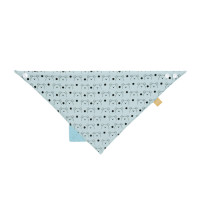 Dreieckstuch Baby Interlock Bandana with silicone teether, Little Chums Dog