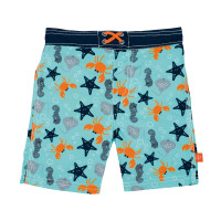 Kinder Badehose - Board Shorts Boys, Star Fish