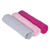 Swaddle & Burp Blanket L Bedtime Candy girls