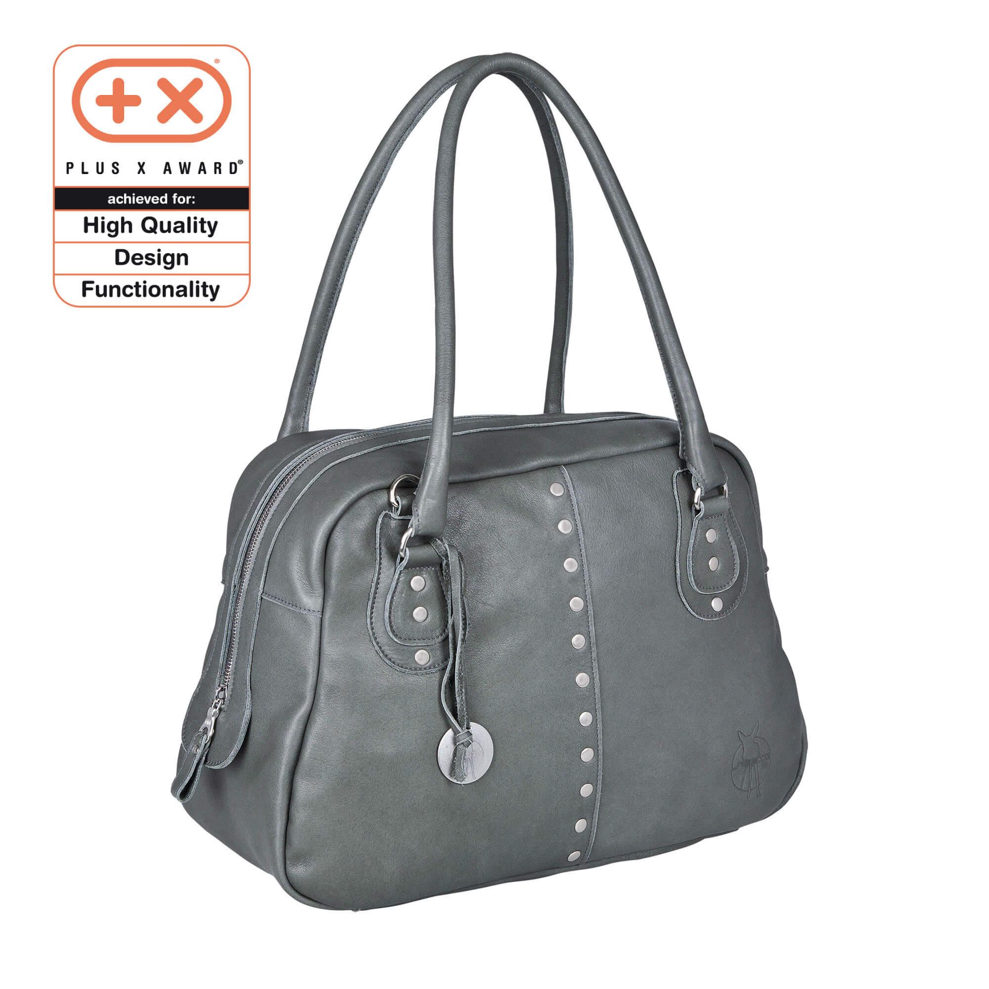 Lässig wickeltasche bowler bag grey lÄssig fashion