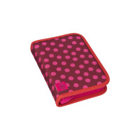 Mäppchen School Pencil Case Big, Dottie red